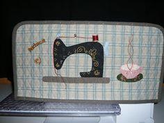 Pedaços Patchwork: Funda para máquina de coser