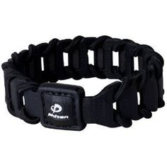 Phiten Fuse Silicone With Nylon Cord Spiral Titanium Bracelet, Black, 7.5 Inch by Phiten. $26.50. Sport and lifestyle raise the bar with a killer combo that defines our latest bracelet, the Fuse. A tough, nylon cord spirals through alternating strips of leather-textured silicone - a rugged yet sporty look that crosses over effortlessly from the street into the zone. Leather-textured silicone Tough, Nylon Cord Rugged yet sporty look Made in Japan
