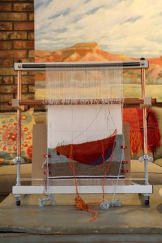 Oooh, a lovely Mirrix loom - I have one of these upstairs. Maybe time to get it out and play!