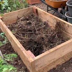 Potager garden 384494886936656760 - Use a lasagne method, compost, manure and straw. Source by loveofdir Potager garden 384494886936656760 - Use a lasagne method, compost, manure and straw. Source by loveofdirt