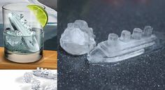 Gin and Titanic Ice Cube for a cool party!...