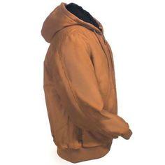 Dickies Jackets: Men's TJ230 BD Brown Duck 10-Ounce Sanded Duck Jacket - Dickies Jackets - Jackets - Outerwear