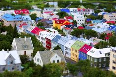 おもちゃ箱のようなかわらしさ、アイスランドの首都レイキャビク