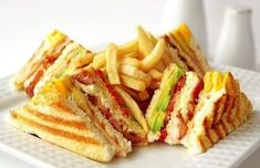 The Bay Resort & Restaurant Bankai,Koh Phangan,Surat Club Sandwich Receta, Club Sandwich Recipes, Chicken Sandwich Recipes, Tuna Recipes, Cookbook Recipes, Cooking Recipes, Yummy Recipes, Recipies, Carb Detox