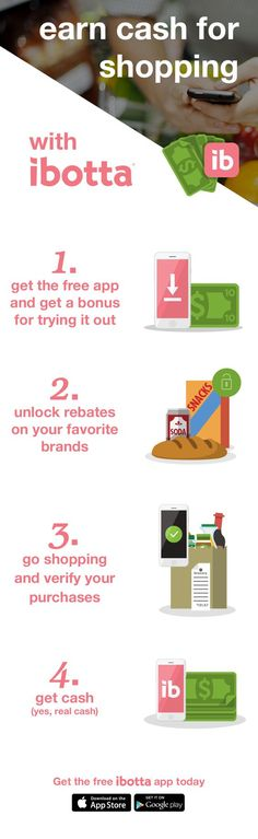 Install the free Ibotta app for exclusive cash back rebates and get an extra…https://ibotta.com/r/ewpghbr