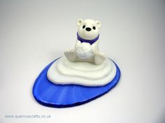 Quernus Crafts — Little Polar Bear on Iceberg