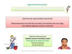 ¡Dominio de expresividad emocional! Representamos la acción de acuerdo a la emoción que nos salga y los demás adivinan acc...