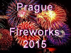 Prague Fireworks 2015   Czech Republic New Year Fireworks