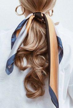 Hair Hair The post Hair appeared first on Geflochtene Frisuren. Hair Day, New Hair, Your Hair, Girl Hair, Retro Hairstyles, Scarf Hairstyles, Daily Hairstyles, Summer Hairstyles, Braided Hairstyles
