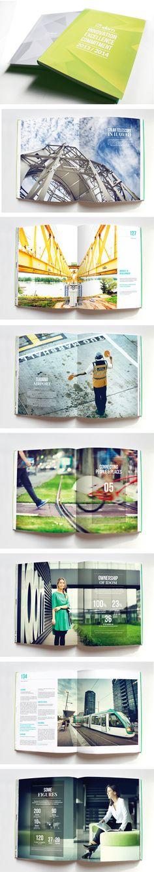 Layout - how to exploit photography. (Idom Annual report 2014 designed by Muak Studio www.muak.cc/)