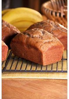 Receita para o dia do pão pão de banana