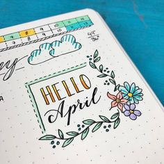 It's a time for pastels, eggs, flowers, and cute bunnies! Bring the holiday to life with these 17 Easter Bullet Journal Ideas and themes. Bullet Journal 2018, Bullet Journal Layout, Bullet Journal Inspiration, Fonte Alphabet, Bullet Journal Calendrier, Bujo Doodles, Journal Pages, Filofax, Creations