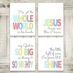 Sunday School Songs Bundle // Light // INSTANT by AllOurDays