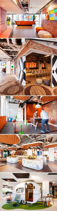Google Office in Amsterdam