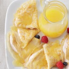 Lemon-Berry Crepes « Go Bold with Butter