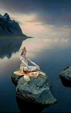 This Pin was discovered by Devi Yoga for Women. Discover (and save! Lord Shiva Pics, Lord Shiva Hd Images, Shiva Lord Wallpapers, Lord Shiva Family, Lord Shiva Statue, Rudra Shiva, Mahakal Shiva, Shiva Meditation, Shiva Parvati Images