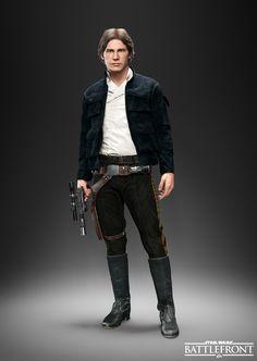 Así lucirá Han Solo en Star Wars Battlefront