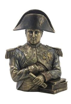Napoleon French Emperor Bust Bronze Finish 9.75H