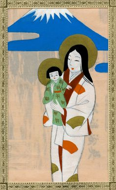 Japanese Madonna and Child 1930s by Blue Ruin1, via Flickr
