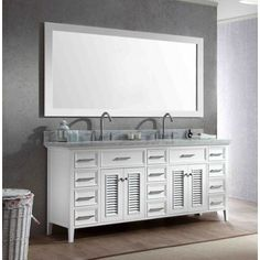 London 36 Inch Single Sink Espresso 4 Drawer Vanity Set