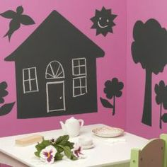Buy House & Trees Chalkboard Set from our Easels & Activity Tables range - Tesco.com