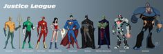 Nothing really new here just a line up of some the members of the Justice League that I have done in there New 52 costumes. I made some changes to some . Justice League New 52 Justice League New 52, Justice League Characters, Justice League Unlimited, Superman, Marvel Vs, Dc Heroes, My Tumblr, The Martian, Dc Universe