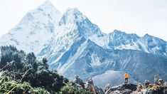 """The North Face ME on Instagram: """"The kind of view you need to add to your bucket list! 📍Everest Base Camp Trek, Nepal. 📷// @vinaymethilnair  #NeverStopExploring"""" Citation Zen, Nepal People, Nepal Culture, Zen Attitude, Everest Base Camp Trek, Hill City, Never Stop Exploring, Where To Go, The North Face"""