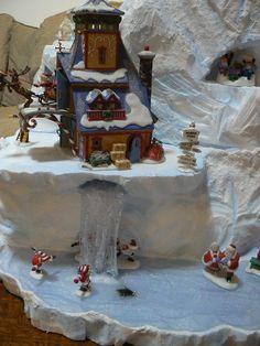 Christmas Village Decorations, Christmas Scenery, Christmas Village Display, Christmas Villages, Winter Christmas, Christmas Home, Christmas Thoughts, Christmas Time Is Here, All Things Christmas