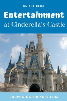 Entertainment at Cinderella's Castle Disney World Shows, Disney World Parks, Disney World Planning, Walt Disney World Vacations, Disney World Tips And Tricks, Beloved Movie, Disney Tickets, Disney World Magic Kingdom, Stage Show