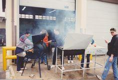 Members of the base transportation unit, San Vito Air Station, Brindisi, Italy 1992