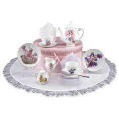 Flower Fairies Medium Tea Set in Hat Box