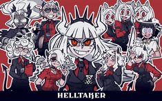 Character Concept, Character Art, Character Design, Beelzebub, Blue Words, Anime City, Demon Girl, Fan Art, Monster Girl