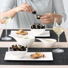 ASA-Selection A Table sauciere with handle 13,5 x 6,8 cm h. 4cm