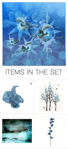 """Blue Bird Thanksgiving (Please Read)"" by reggiano ❤ liked on Polyvore featuring art and 434"