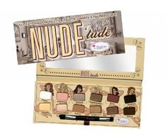 theBalm Nude'Tude Nude Eyeshadow Palette - Nice Palette 0.382 Ounce:Amazon:Beauty