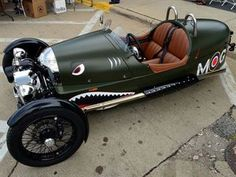 Three-Wheeled Cars: Morgan 3 Wheeler