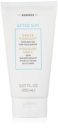 KORRES Greek Yoghurt After-Sun Cooling Gel, 5.07 fl. oz. ... https://www.amazon.com/dp/B00YM89XRW/ref=cm_sw_r_pi_dp_ZF5IxbRMXPT94