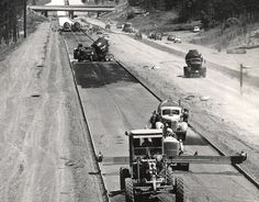 The interstate highway is something baby boomers and younger people take for granted. And though President Dwight D. Eisenhower signed legislation to fund an interstate highway system June 29, 1956, some places didn't see the results until the early 1960s.
