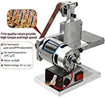 Multifunctional Grinder Mini Electric Belt Sander Small DIY Polishing Machine US Mini Belt Sander, Mini Diy, Belt Grinder, Turning Tools, Grinding Machine, High Speed Steel, Diy Tools, Hobby Tools, Cnc Machine