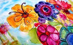 watercolour by Jodi Ohl on YUPO PAPER