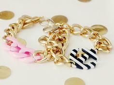 """nautical bracelet from """"Cake for Breakfast"""" etsy shop"""
