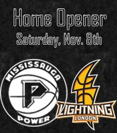 The Mississauga Power started the season with a win on the road in Brampton. Their home opener at @HersheyCentre is next Saturday. Come out and support your home team! #Basketball