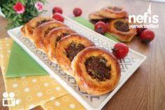 Kıymalı Puf Pide – Nefis Yemek Tarifleri Turkish Recipes, Ethnic Recipes, Homemade Beauty Products, Hot Dog Buns, Tart, Sushi, French Toast, Pizza, Food And Drink