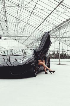 Carro e mulher