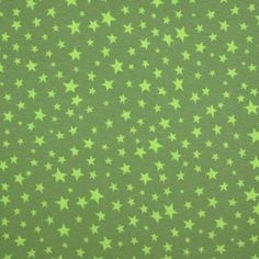 Jersey Sterren Donker Lime / Licht Lime