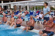 water fitness Hotel Vulcano Spain