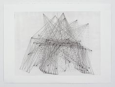 Amber Heaton, Family tree, Blood Flows Like Time - Secondary, etching 22 x 30
