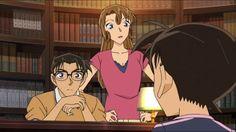 Shinichi and his Parents   Kudo Family   Yusaku, Yukiko and young Shinichi