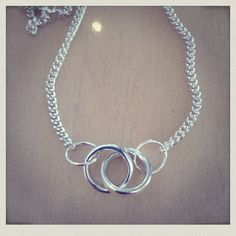 Sterling Silver 'Links' necklace: By Catherine Heritage