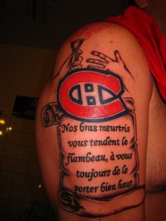 Flambeau porté bien haut soumis par Daniel Bigras / Torch held high, submitted by Daniel Bigras Family Tattoos For Men, Tattoos For Guys, Montreal Canadiens, Hockey, Ideas, Tatoo, Submissive, Tattoos, Top